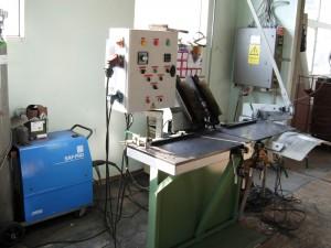 Szélesszalag automata hegesztőgép